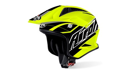 Casco trr s breaker yellow gloss